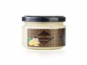 Крем-мед с имбирем - фото 1