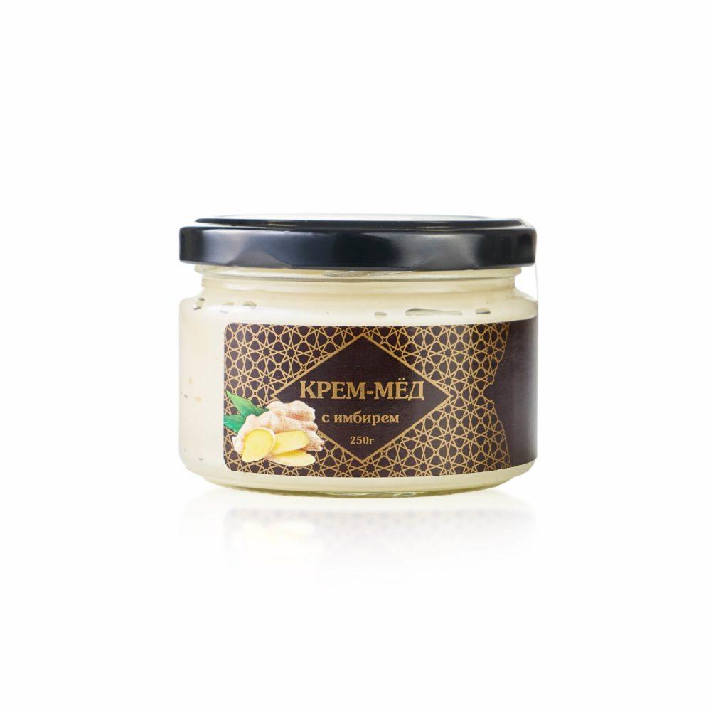 Крем-мед с имбирем - фото 2