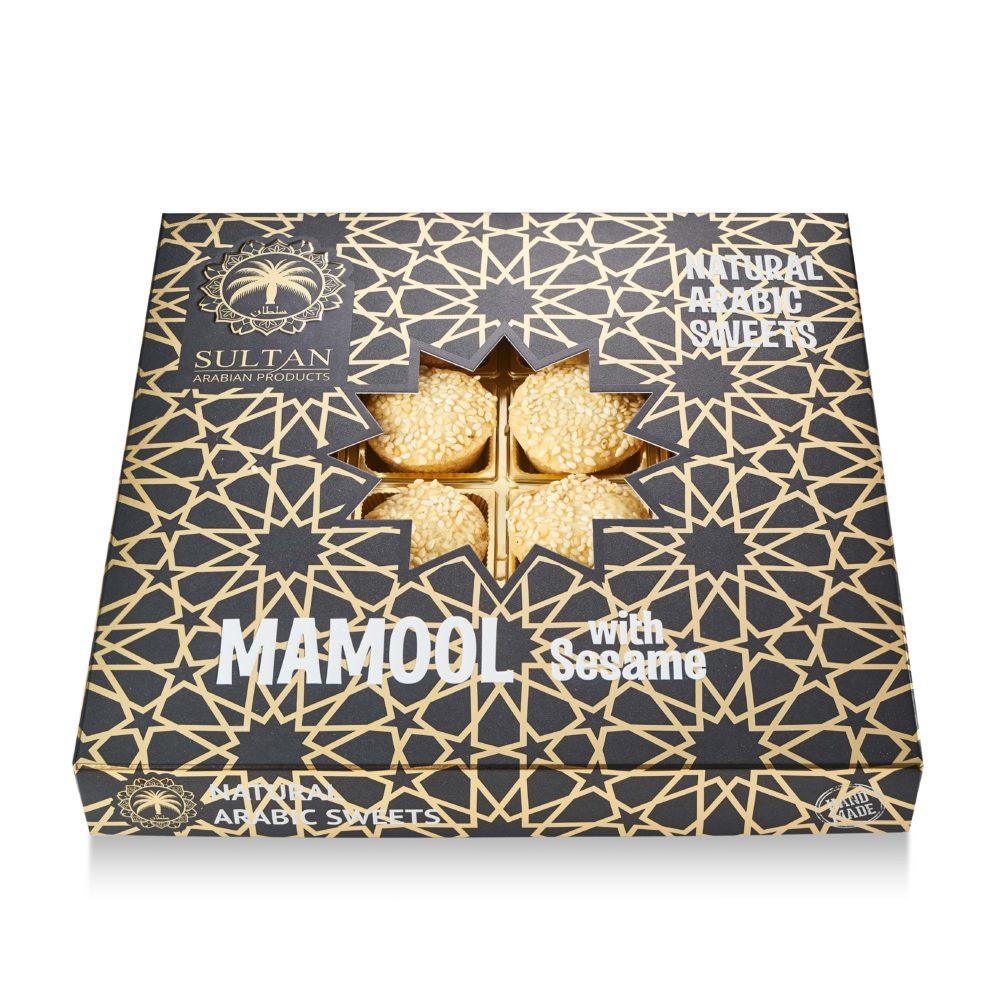 Печенье «Mamool Premium» с кунжутом - фото 3