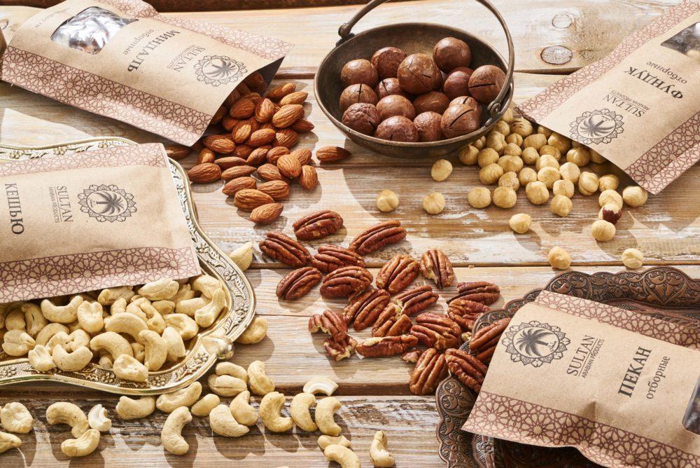 Орехи и сублимированные фрукты