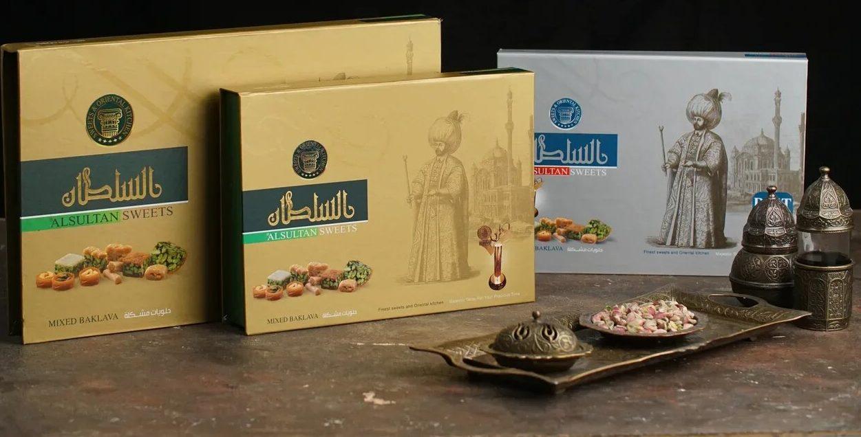 Наборы из арабской выпечки от SULTAN