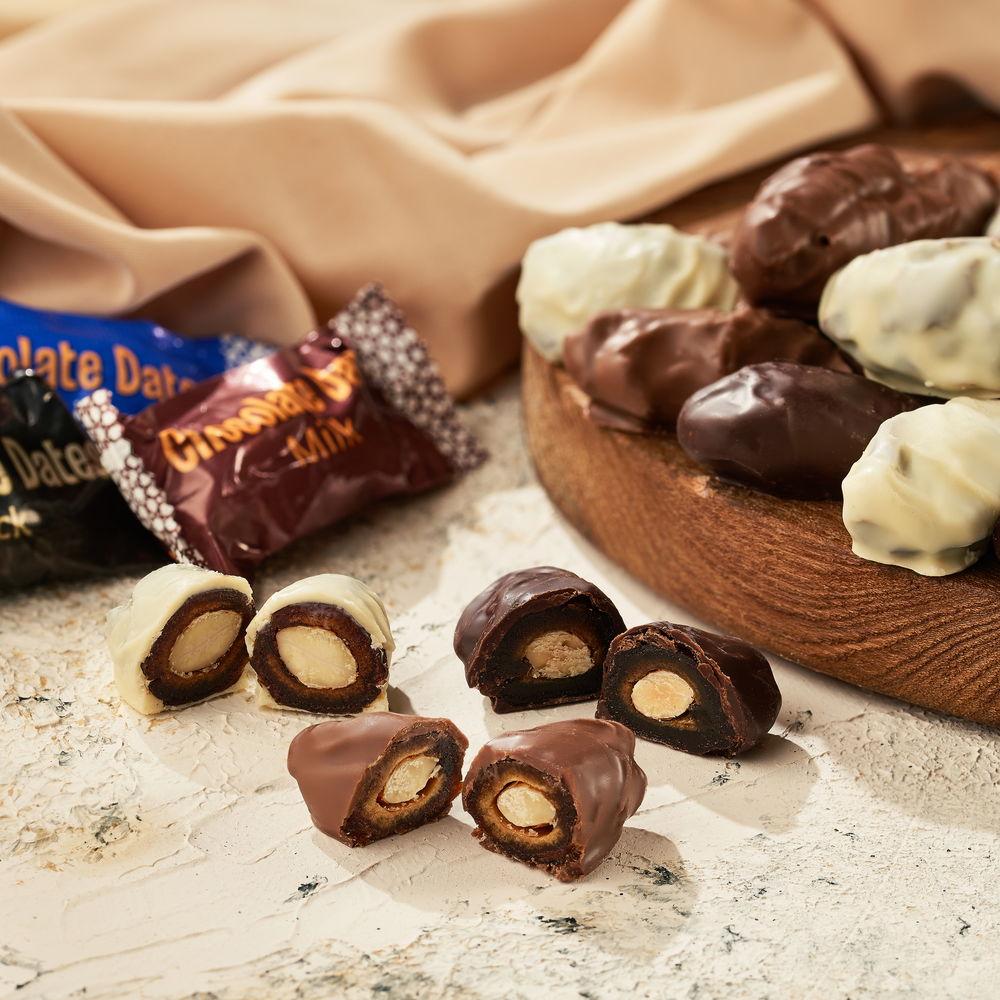 Финики в белом/темном/молочном шоколаде - фото 6