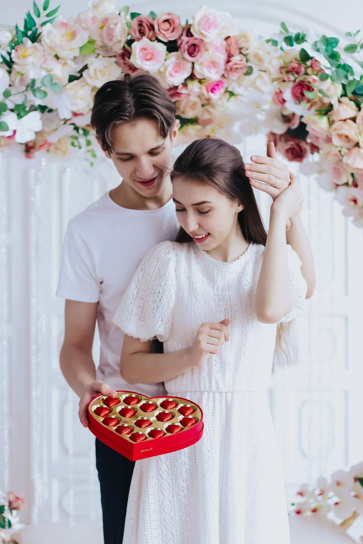 Подарочный набор конфет «Love story» - фото 10
