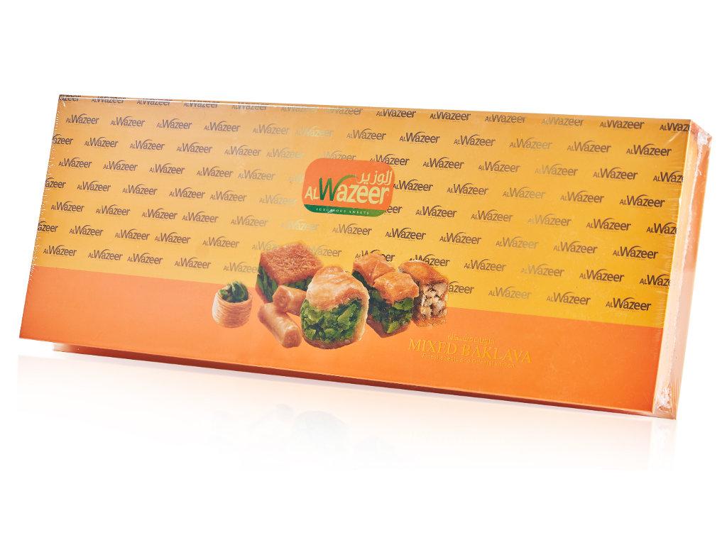 Арабская пахлава Микс Wazeer подарочная коробка - фото 3