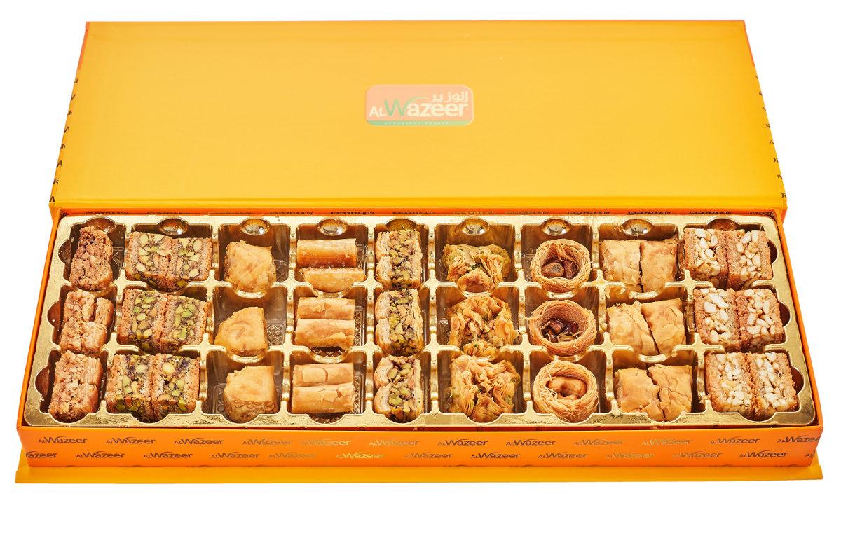 Арабская пахлава Микс Wazeer подарочная коробка - фото 4