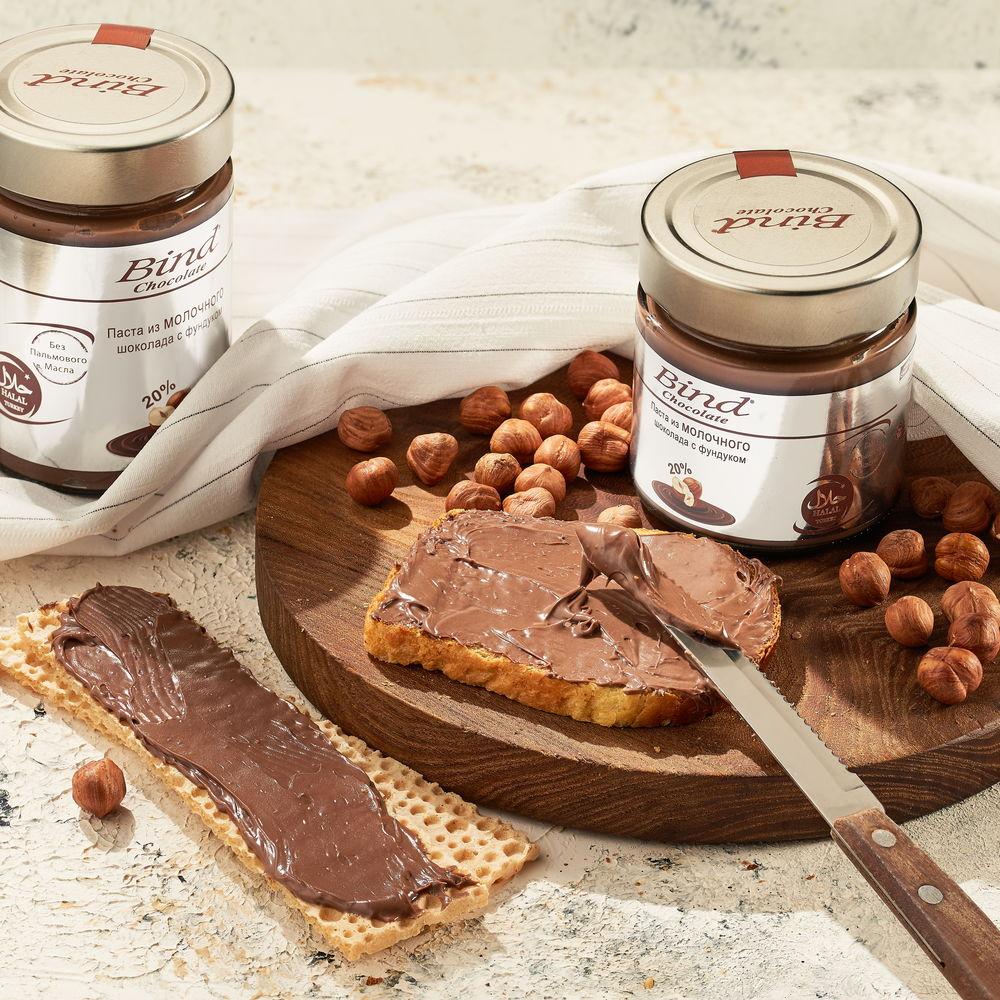 Вкуснейшая паста из молочного шоколада и фундука - фото 4