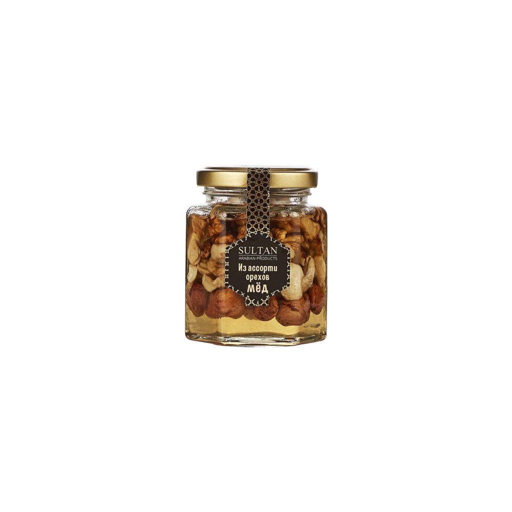 Ассорти орехов в меду - фото 2