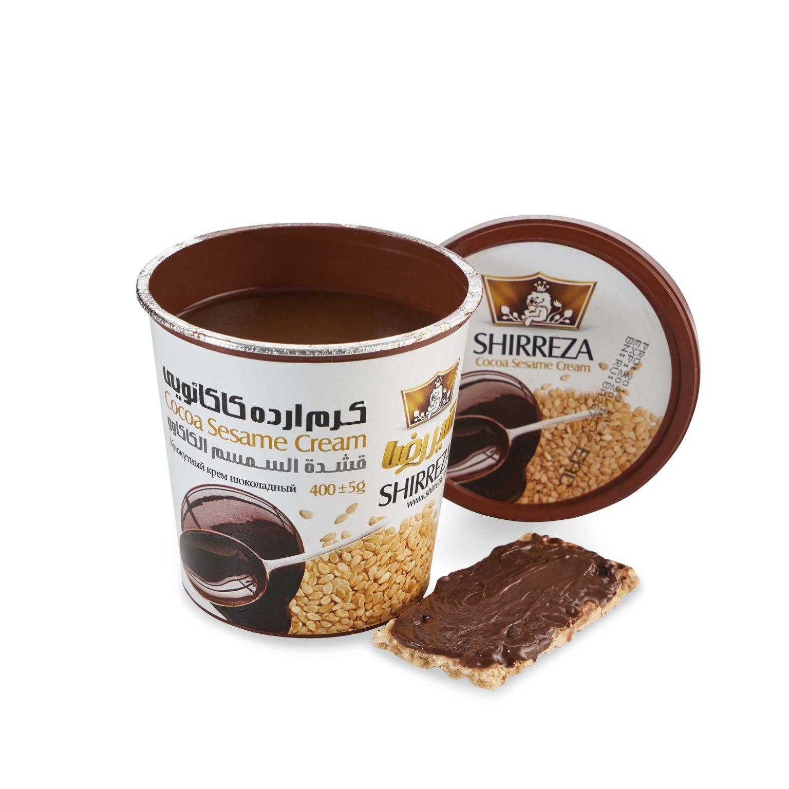 Кунжутная паста-крем с шоколадом