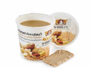 Кунжутная паста-крем с арахисом