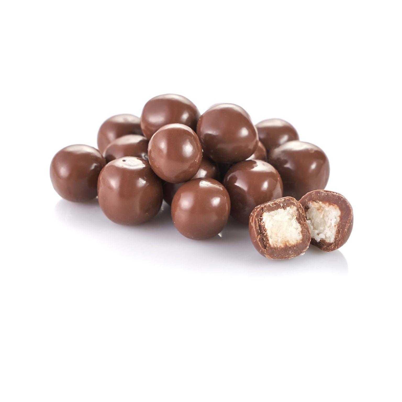 Драже кокос в молочном шоколаде