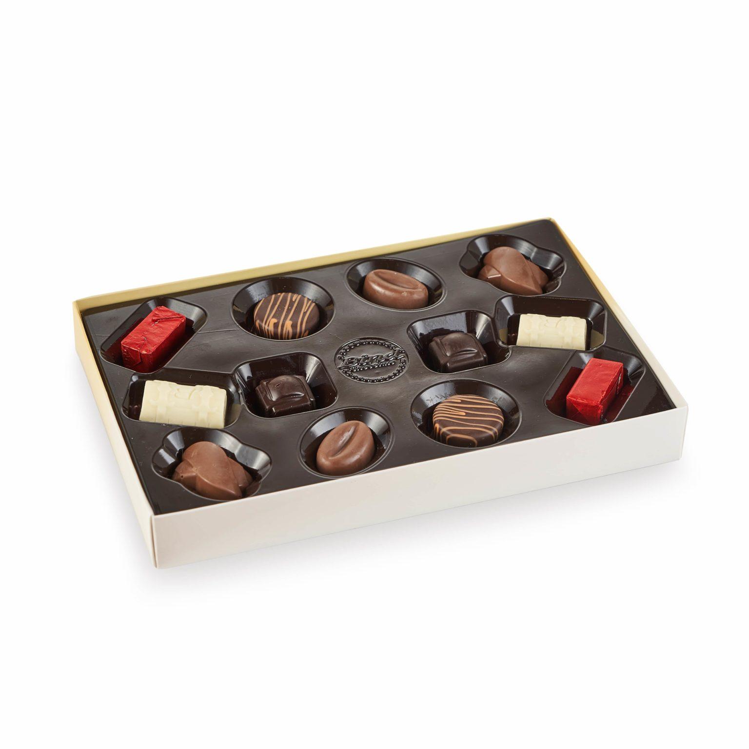 Набор шоколадных конфет Золотая Вуаль