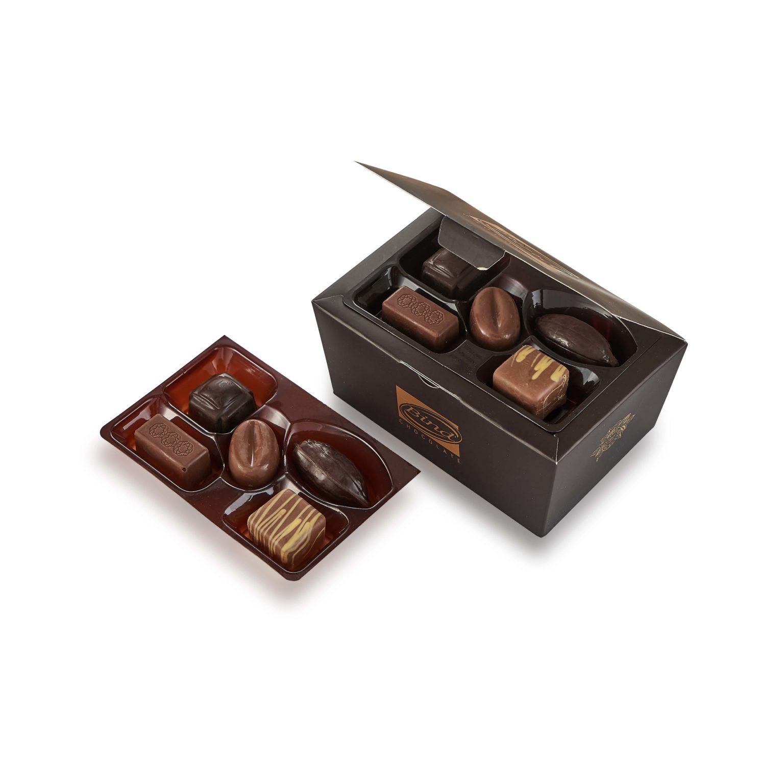 Шоколадный набор «Золотой презент» - фото 2