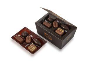 Шоколадный набор «Золотой презент» - фото 1