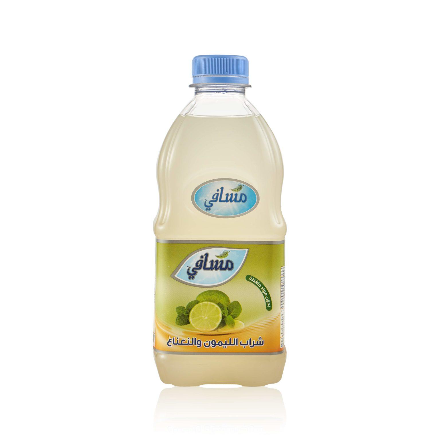 Напиток Masafi «Лайм и Восточная мята» - фото 2