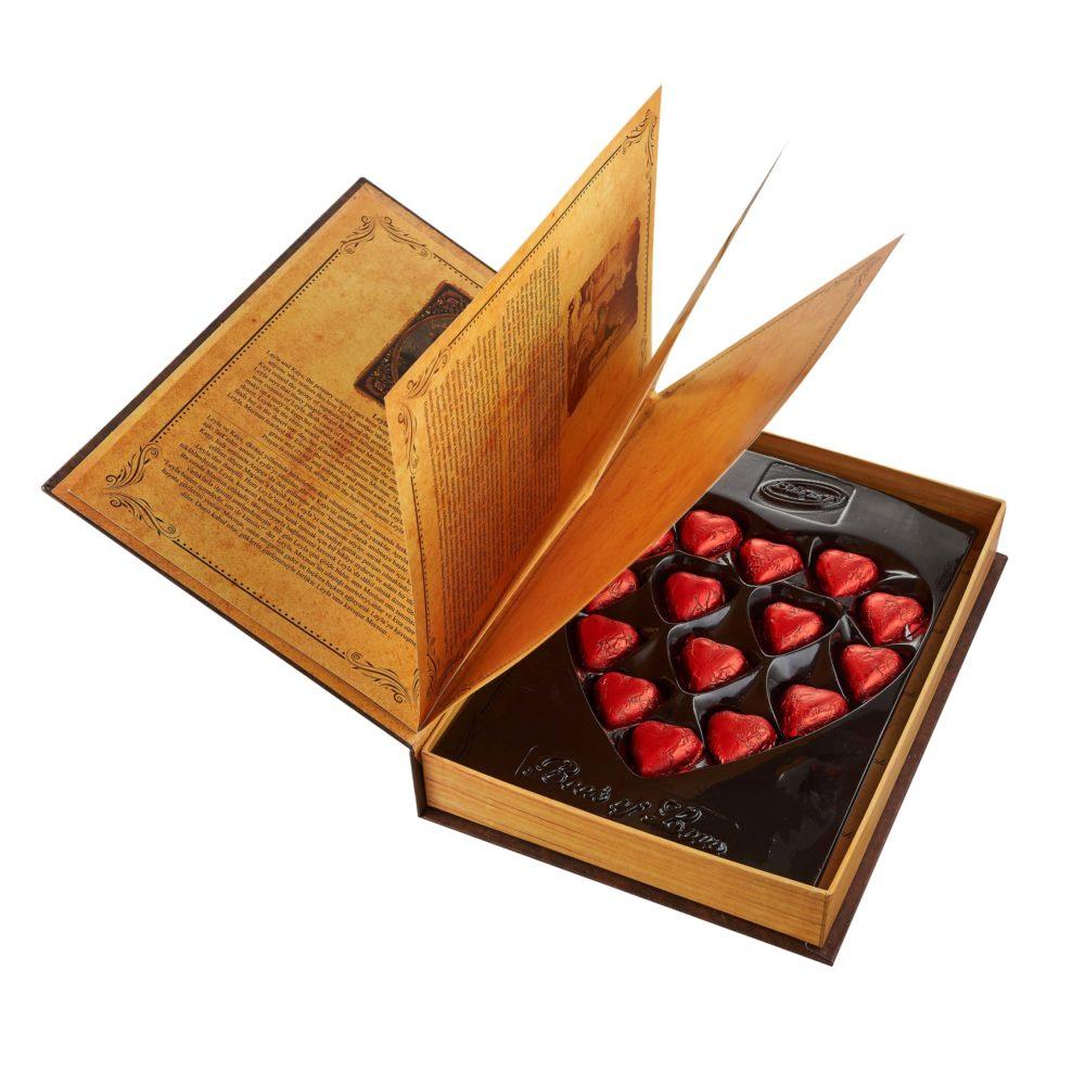 Подарочный набор конфет «Love story»