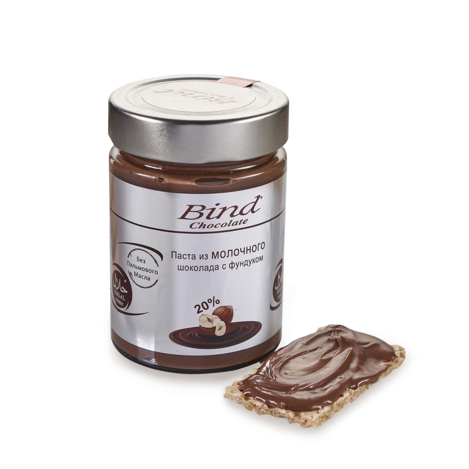 Вкуснейшая паста из молочного шоколада и фундука