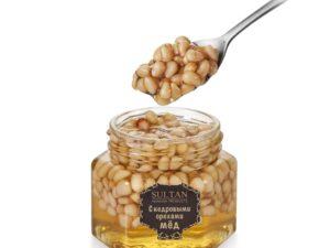 Кедровые орехи в меду