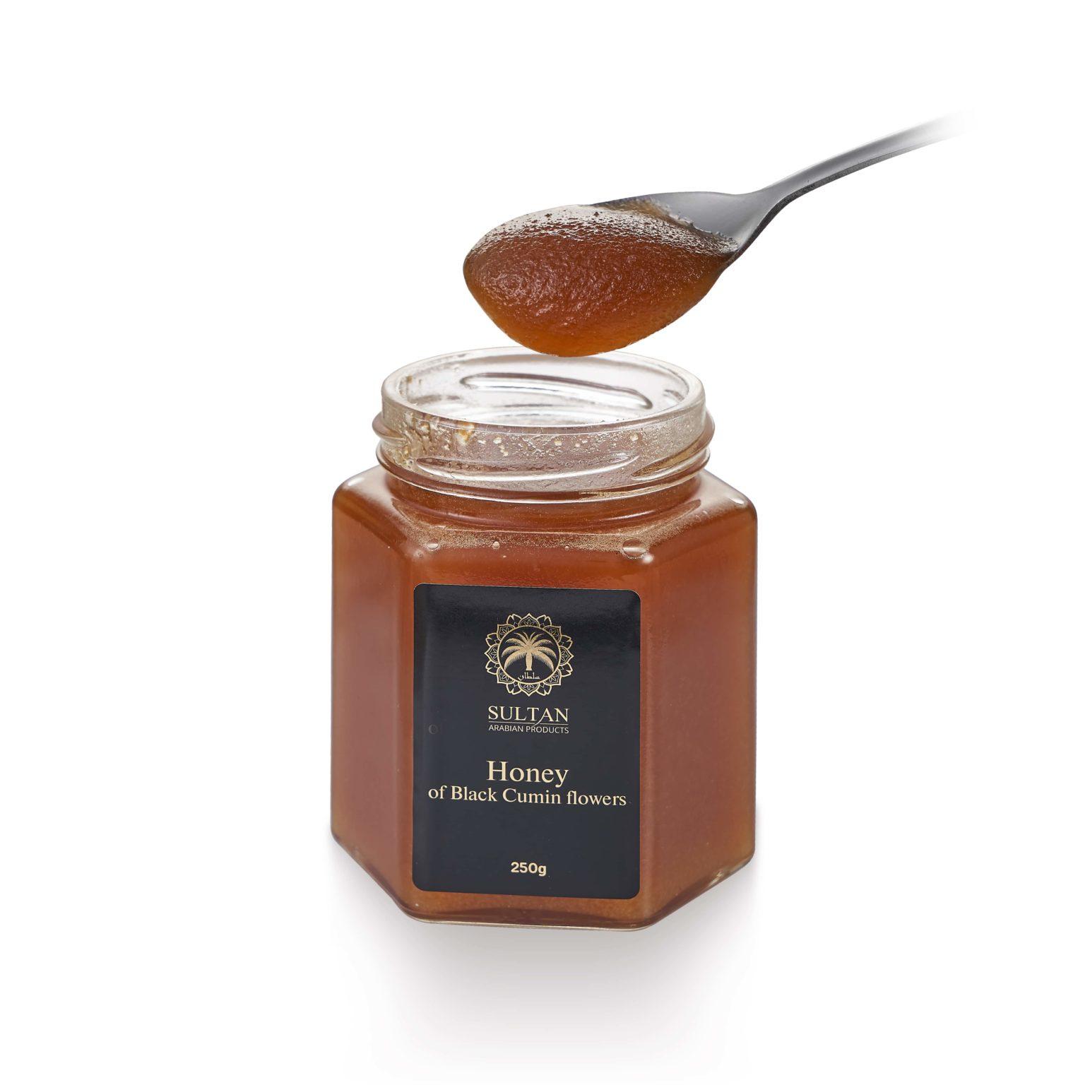 Эксклюзивный мед цветов черного тмина