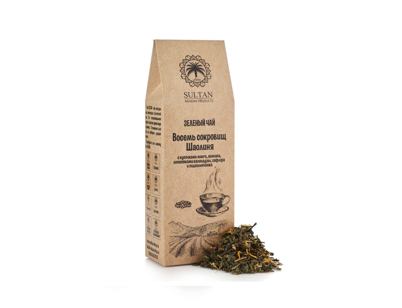 Чай «Восемь Сокровищ Шаолиня»