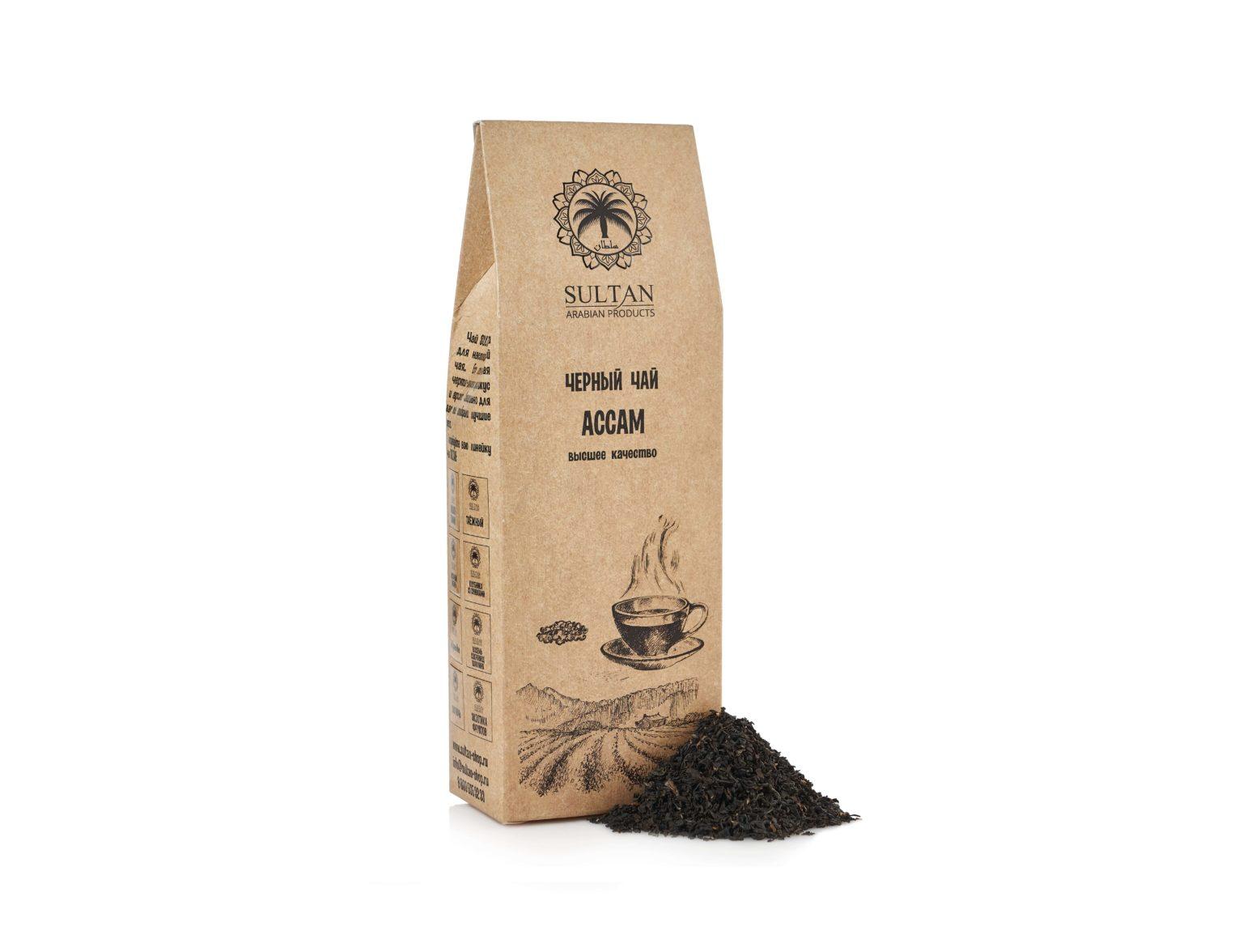 Чай «Ассам», высший сорт