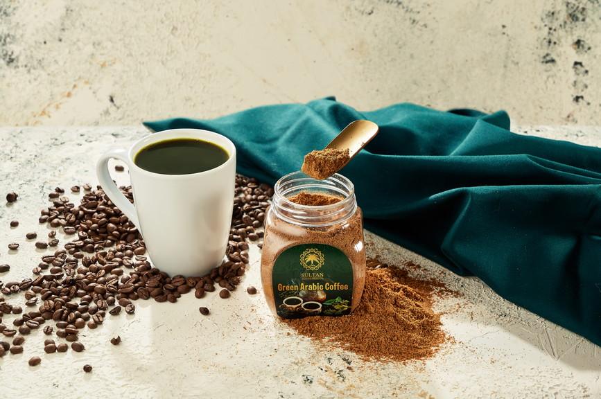 Арабский зеленый кофе с кардамоном - фото 3