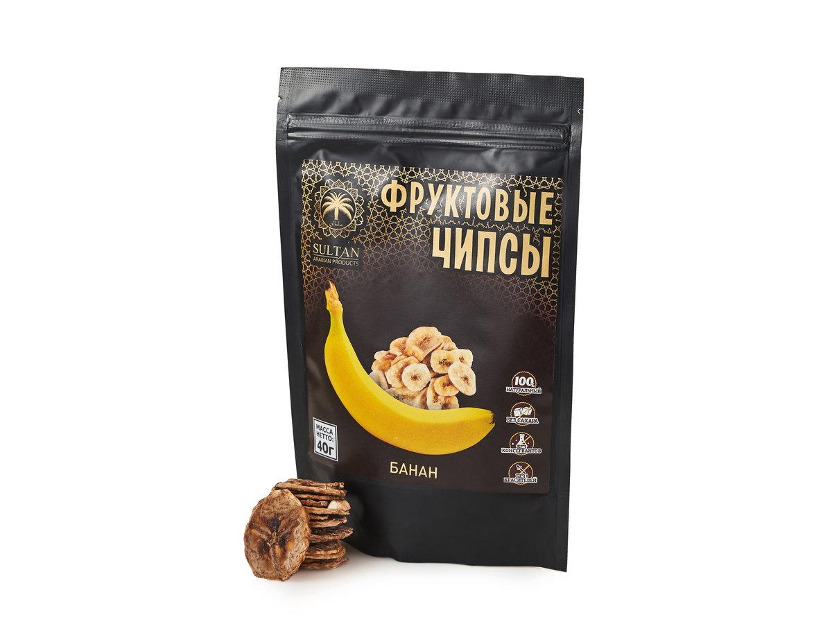 Фруктовые чипсы — Банан