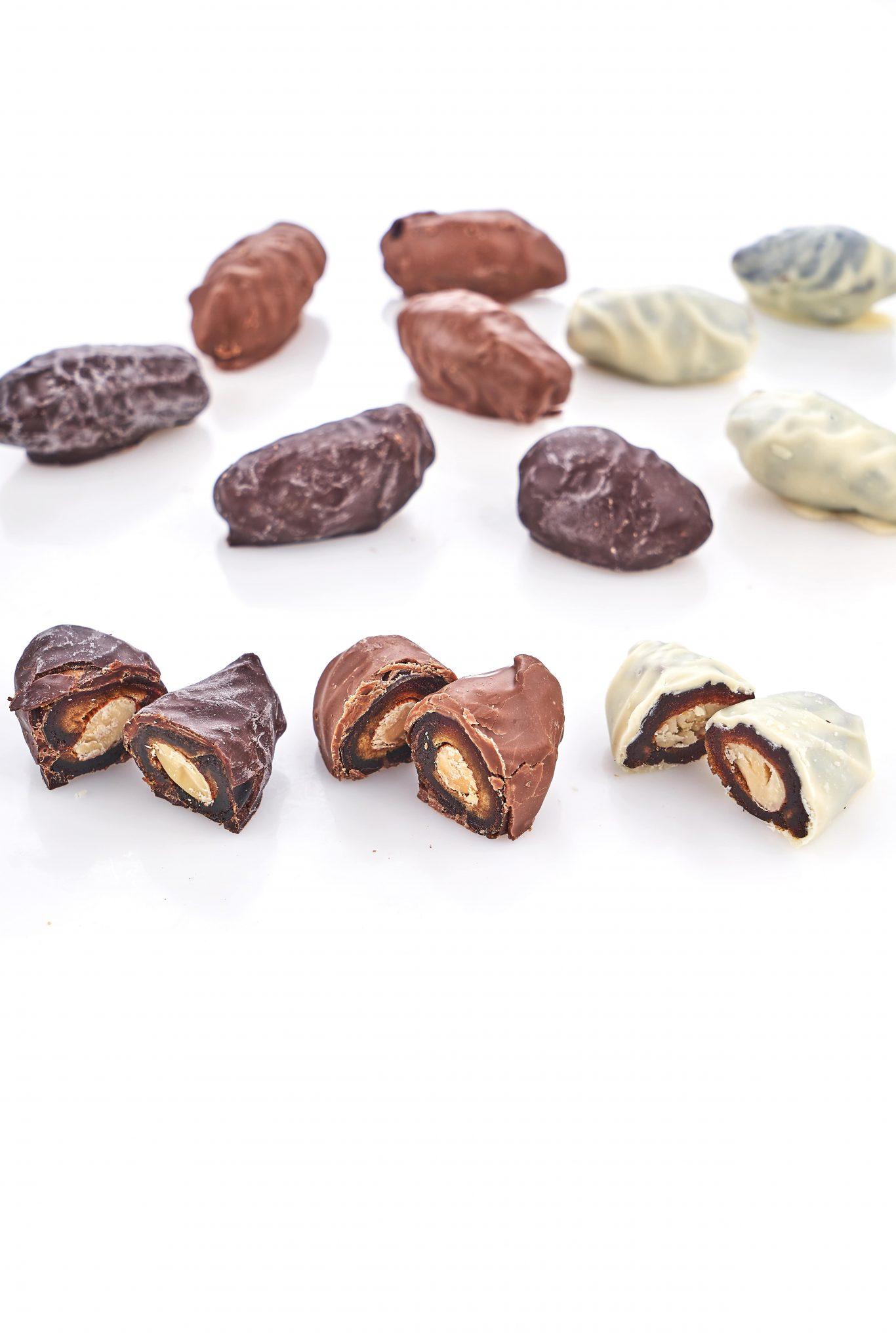 Финики в белом/темном/молочном шоколаде - фото 5
