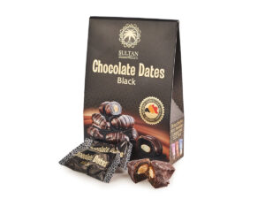 Финики в темном шоколаде