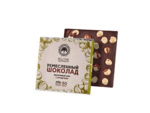 Молочный Шоколад на Меду — Фундук
