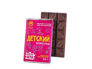 Детский молочный шоколад на Меду — Классический