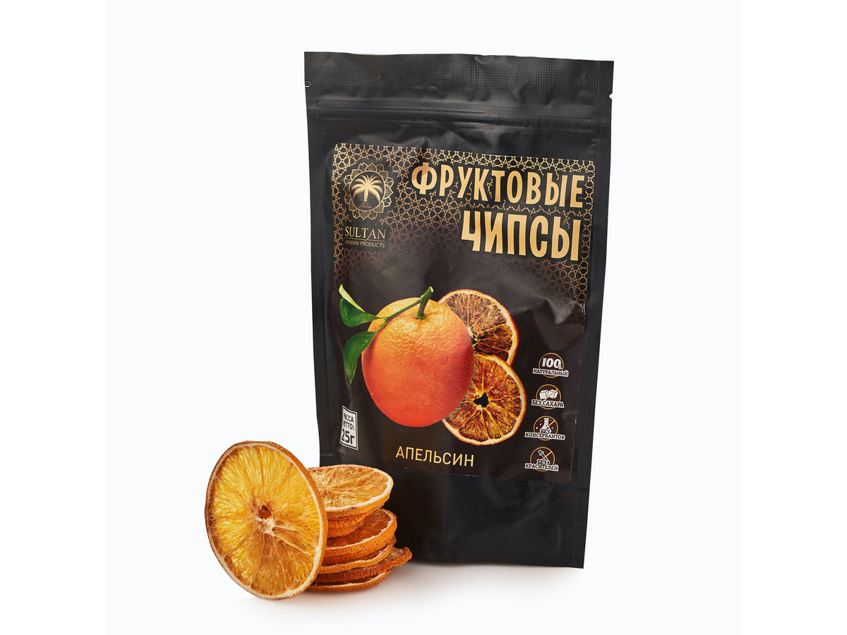 Фруктовые чипсы — Апельсин