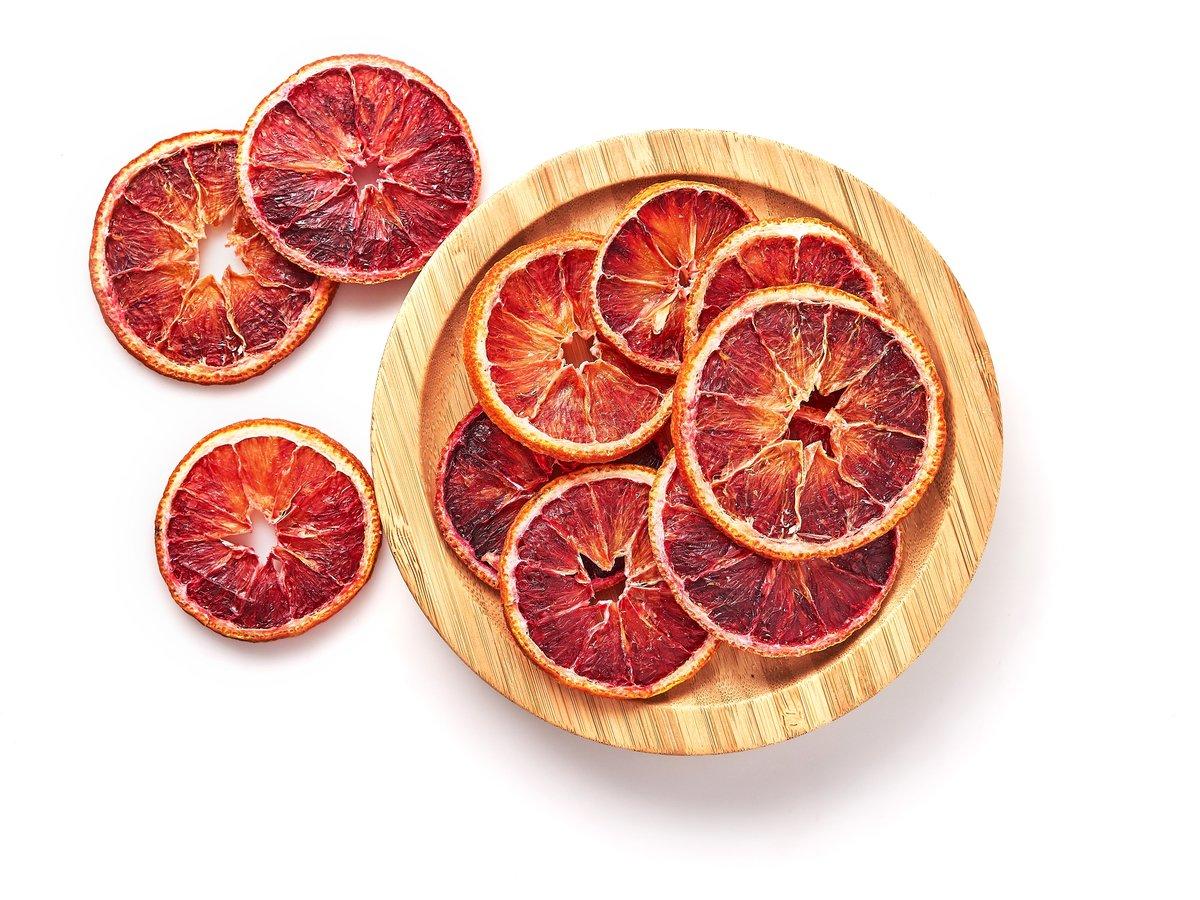 Сушеный Апельсин-красный