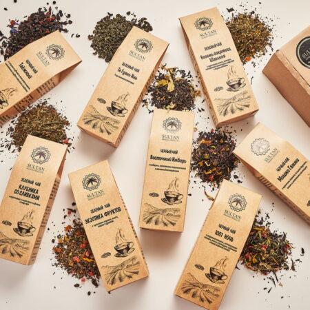 Подарочный набор чая султан
