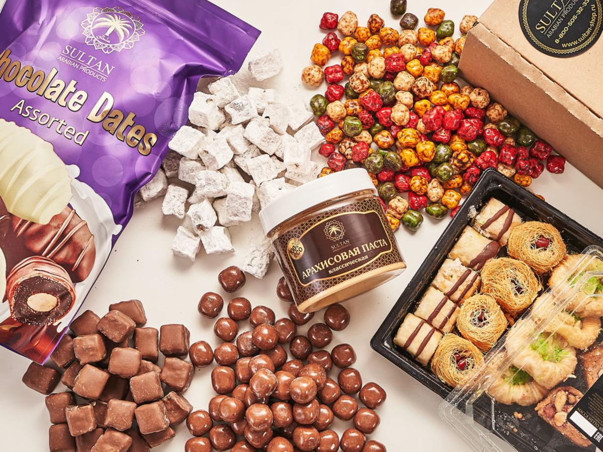 Новогодний набор сладостей