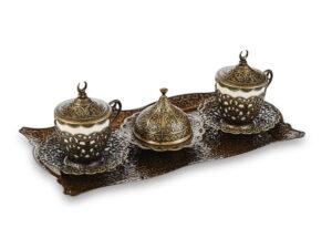 Сервиз кофейный на 2 персоны Султан