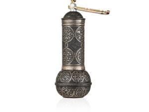 Кофемолка ручная античное золото