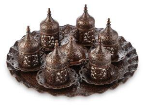 Сервиз Sultan с подносом античное золото