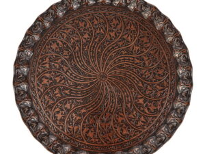 Поднос круглый султан