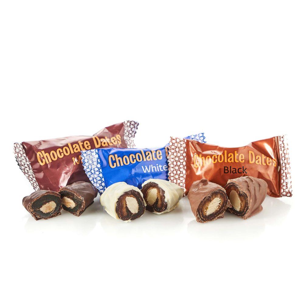 Финики в бельгийском шоколаде 200гр ПРОМО