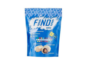 Финики с миндалем в шоколадной глазури Findi WHITE
