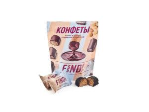 Конфеты FINDI кокос и арахис с варёной сгущенкой