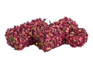 Рахат-Лукум из роз с лепестками «Премиум»