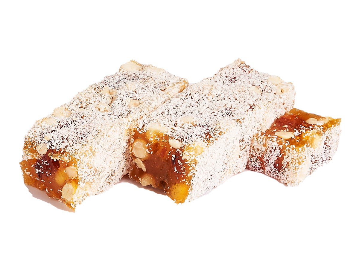 Рахат-лукум абрикос с фундуком «Наслаждение»