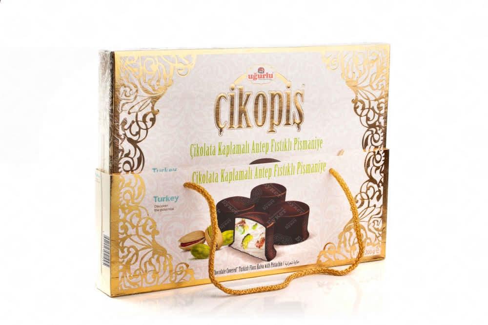 Пишмание с фисташкой в шоколаде подарочная упаковка