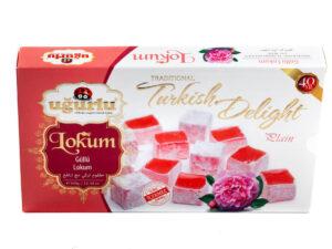 Турецкий рахат-лукум с розой UGURULU 350гр.