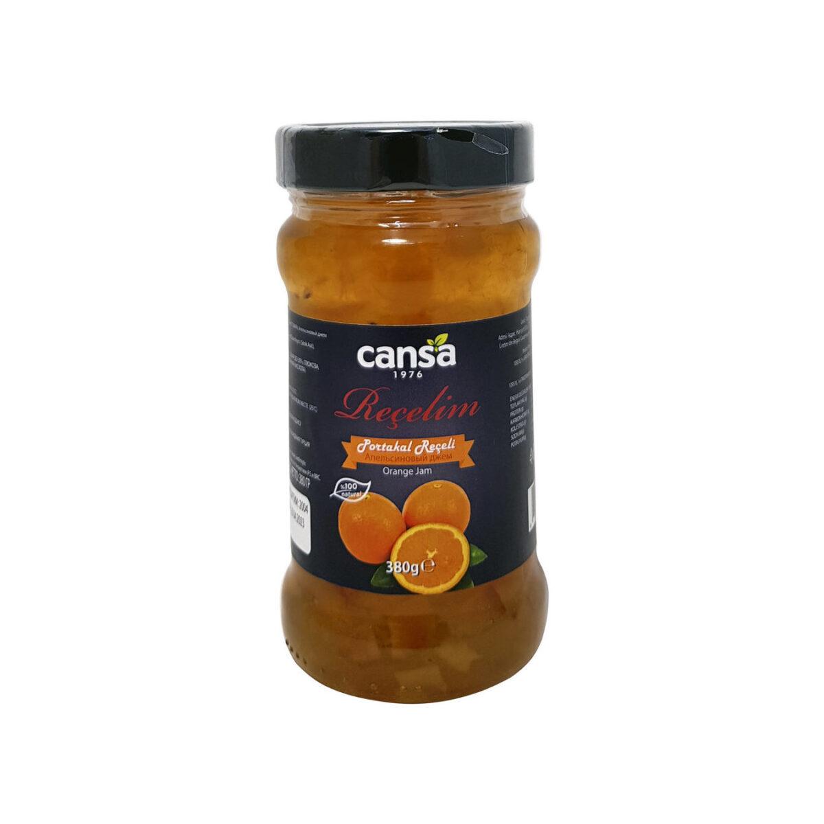 Турецкое апельсиновое варенье, «Cansa», Portakal receli