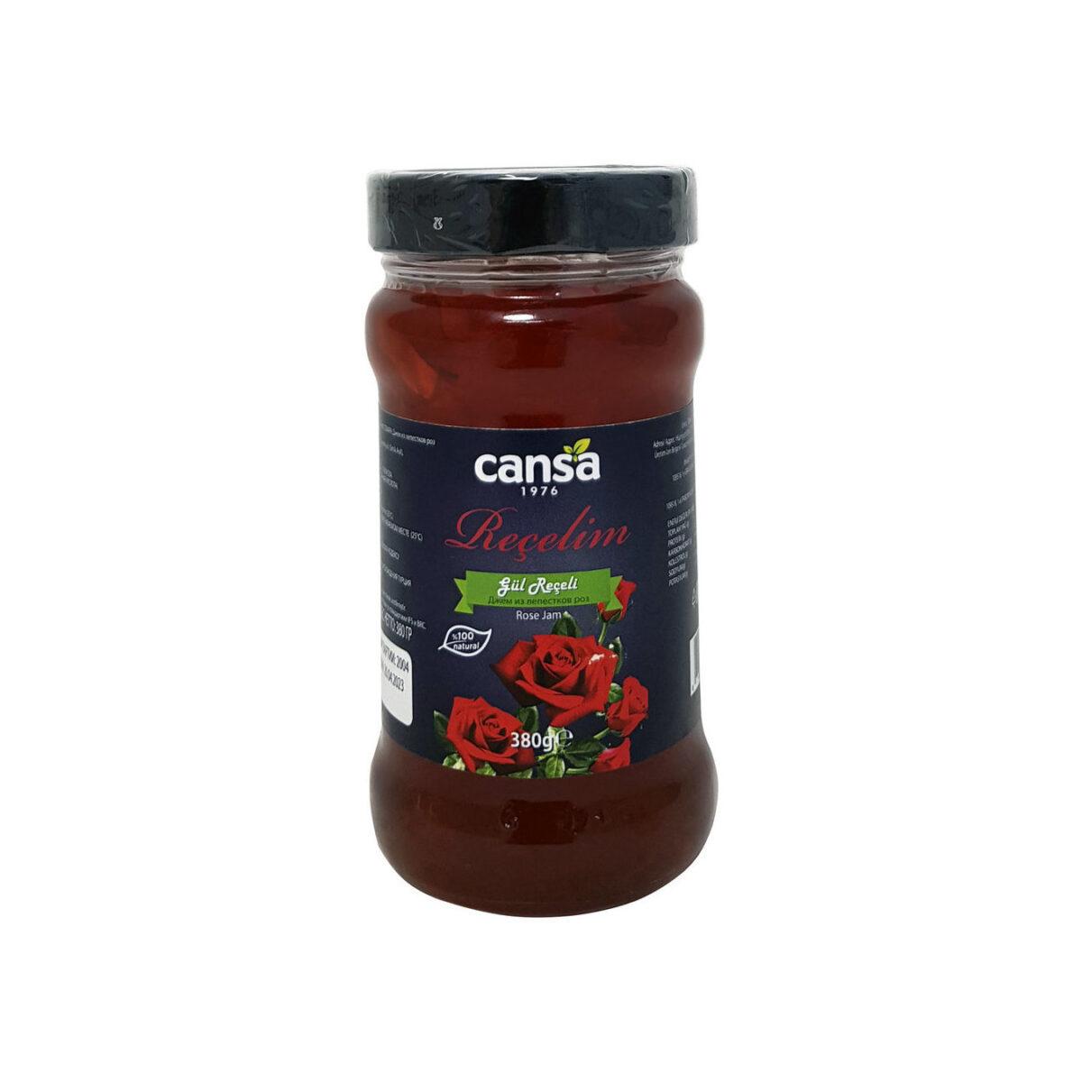 Турецкое варенье из лепестков роз, «Cansa», Gul receli