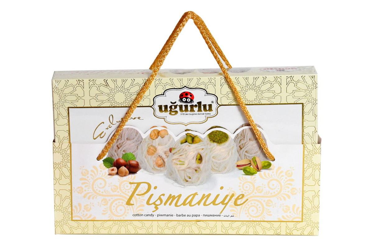Пишмание «Эксклюзивное» с орехами в подарочной упаковке