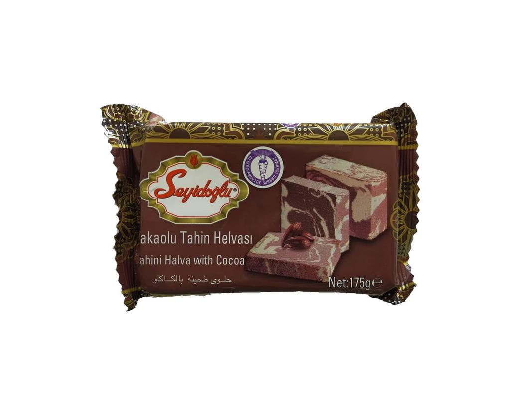 Халва кунжутная Seyidoglu с какао